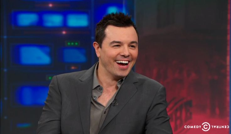 """ Seth MacFarlane on The Daily Show with Jon Stewart """