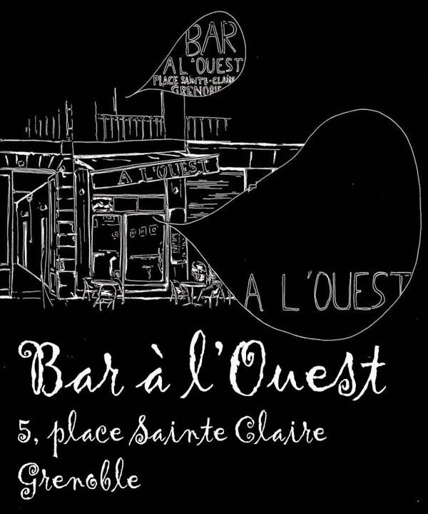 Bar à l'Ouest, Grenoble, France.  Next musical blind-test on the 25th of February 2012. More informations by http://www.facebook.com/events/347187591980445/