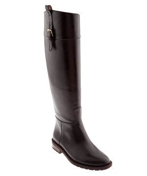Banana Republic Vail Riding Boot   What's the number one wardrobe necessity for winter (well, besides a coat, of course)? Boots! Below, seven sleek picks, whether your preference is flat or heeled, black or brown, to the knee or over it.