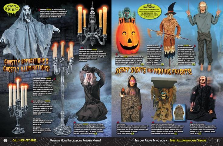 40 41 in halloween 2012 from spirit halloween halloween catalog pinterest spirit halloween - Halloween Catalog