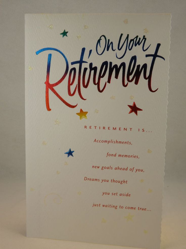 Retirement Congratulation Card - Packs of Five (5) with Envelope #CarltonCards #Retirement
