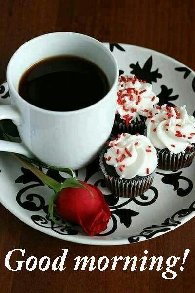 Good Morning Amore : Good morning with coffee and rose imgkid the