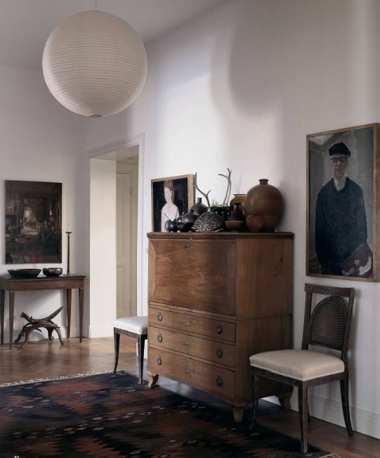mats gustafson's stockholm apartment (photo by magnus marding for nytimes magazine, styled by jacob hertzell)