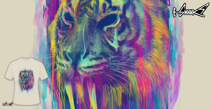 Synthetic Tiger T-shirts - Designed by: Lou Patrick Mackay