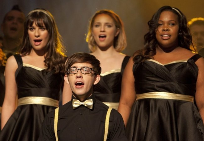 """Elenco de """"Glee"""" permanece na 4ª temporada"""