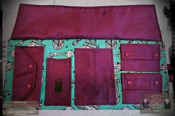 Vintage Reisetaschen - DampferTasche,Sailor,Vintage,Rockabilly,Ezigarette - ein Designerstück von Dampfer-Taschen-Joclame bei DaWanda