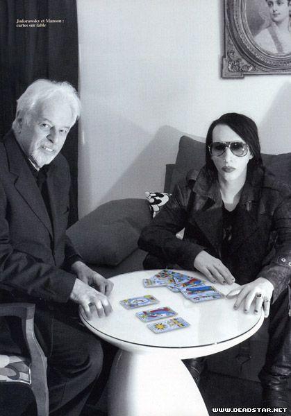 [ Alejandro Jodorowsky & Marilyn Manson ]