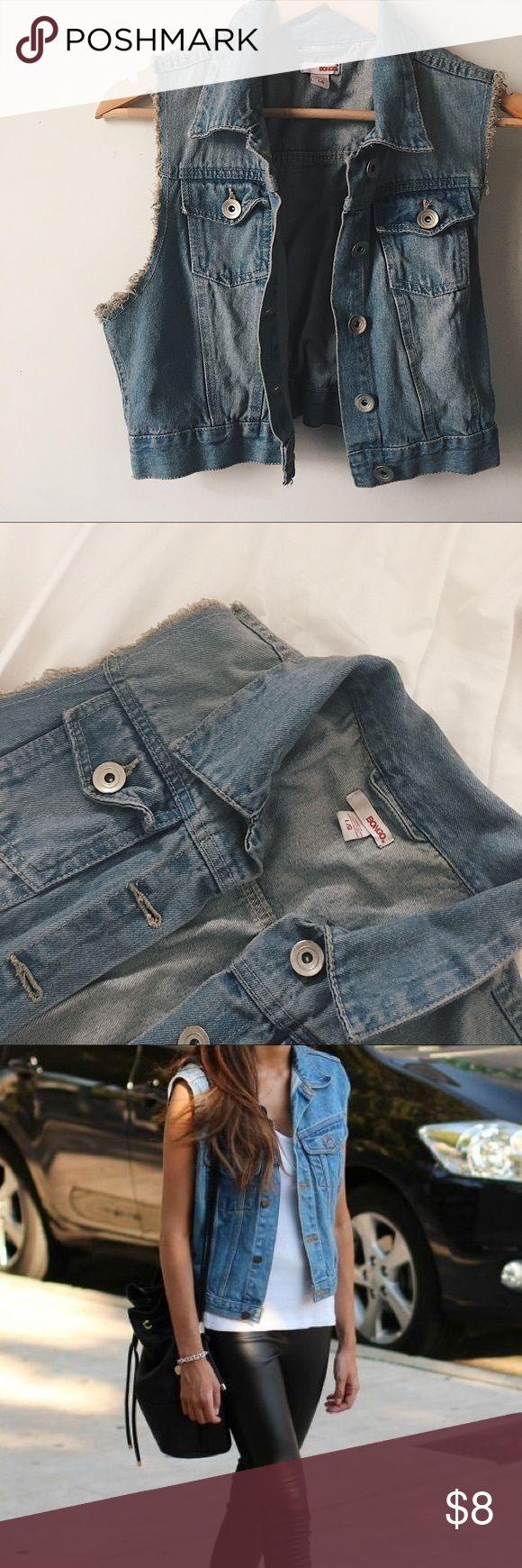 Sleeveless Denim Jacket - Brand New Sleeveless Jean Jacket · Never worn · No flaws Jackets & Coats Jean Jackets