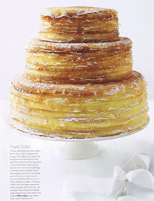 Crepe Cake   Delicious   Pinterest