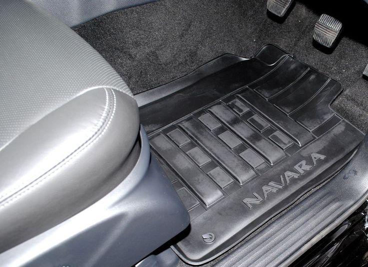 Nissan Navara NP300 D23 2016 on Double Cab Rubber Mats New Genuine KE7584K089