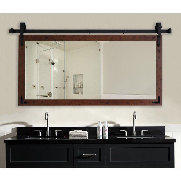 Gracie Oaks Nicholle Bathroom Vanity Wall Mirror Reviews