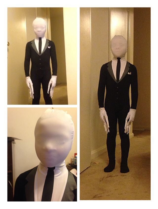 Slender man costume for kids
