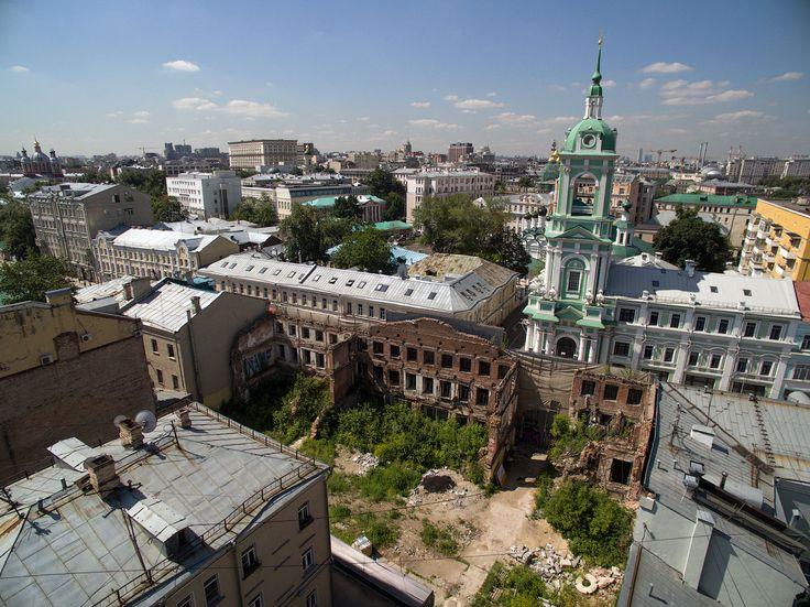Как бывший пустырь превратить в красивый сквер – varlamov.ru