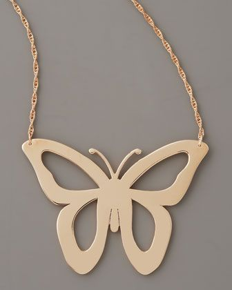 Butterfly necklace. Perfect piece for summer.: Butterflies Necklaces, Finding Butterflies, Templates, Cutout Butterflies, Catalog, 190 Cutout, Metals Butterflies, Jewelry Boxes