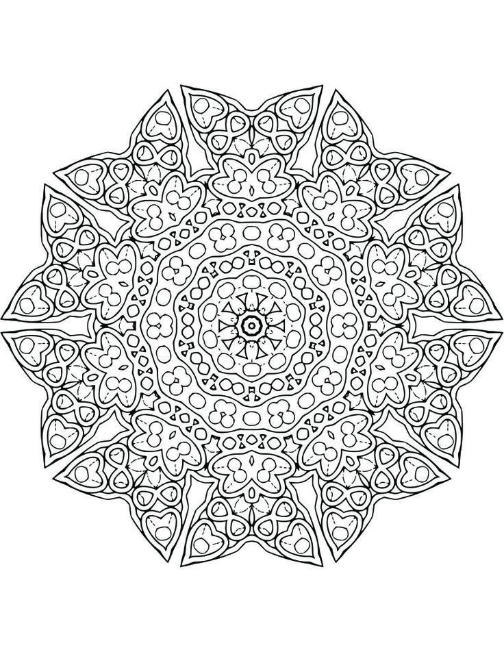 562 Besten Color Mandalas Bilder Auf Pinterest