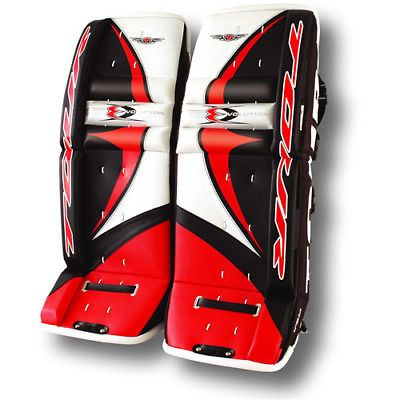 Other Hockey Goalie Equipment 79765: Tour Evo-6000 Youth Roller Hockey Goalie Pads Red Black 27 Inches -> BUY IT NOW ONLY: $117.99 on eBay!