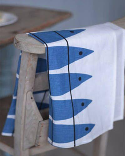 Linen Tea Towels - ELLE DECOR