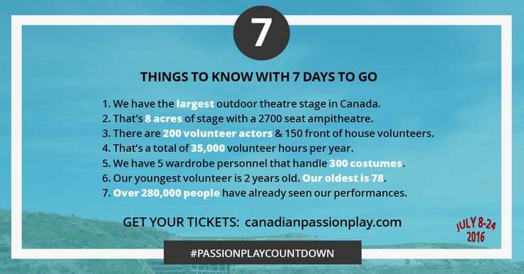7 Things to Know about the Canadian Badlands Passion Play on the largest outdoor theatre stage in Canada.
