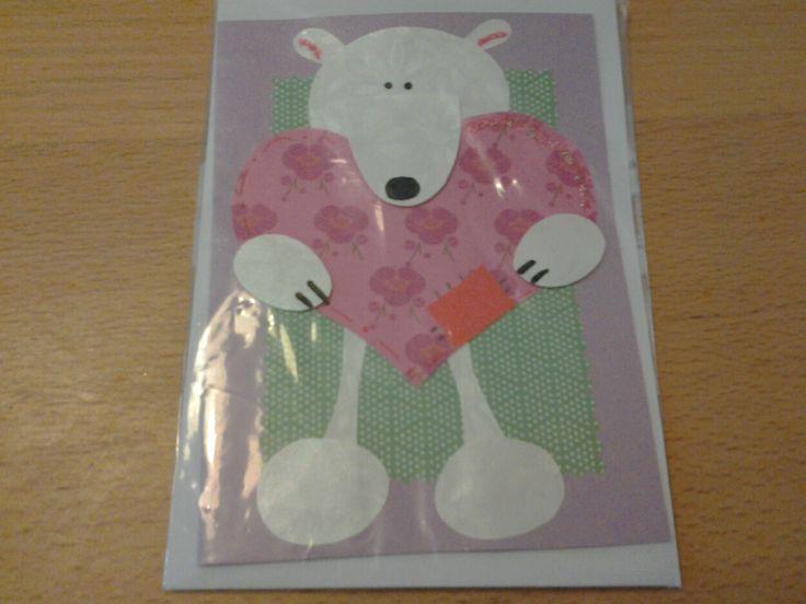 Isbjørn med hjerte