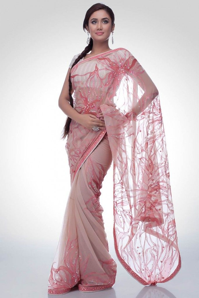 Satya Paul Indian Embroidered Sarees Collection 2013-14
