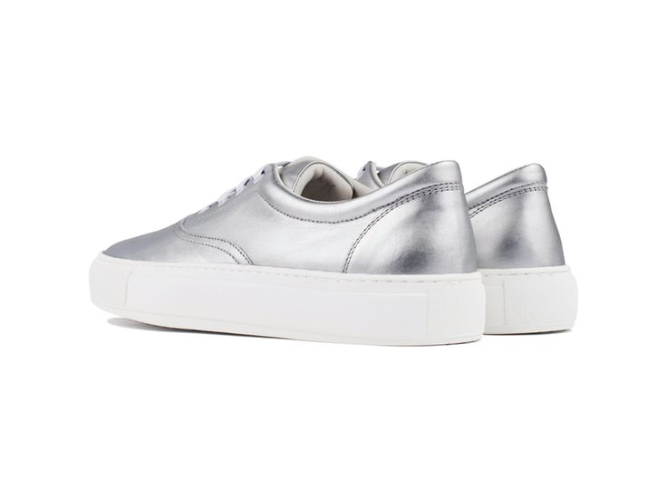 Balmoral 01 Leather Silver