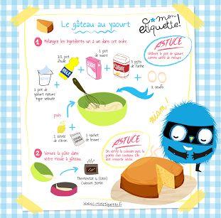 Le gâteau au yaourt