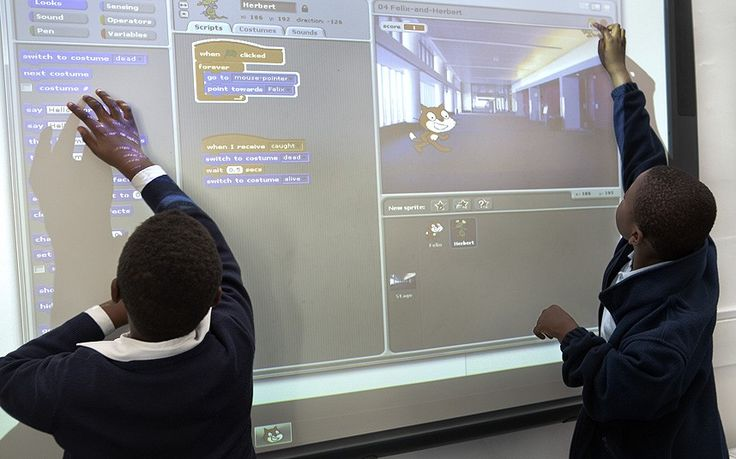 Coding for kids: schoolchildren learn computer programming - Telegraph.  Find a coding club....