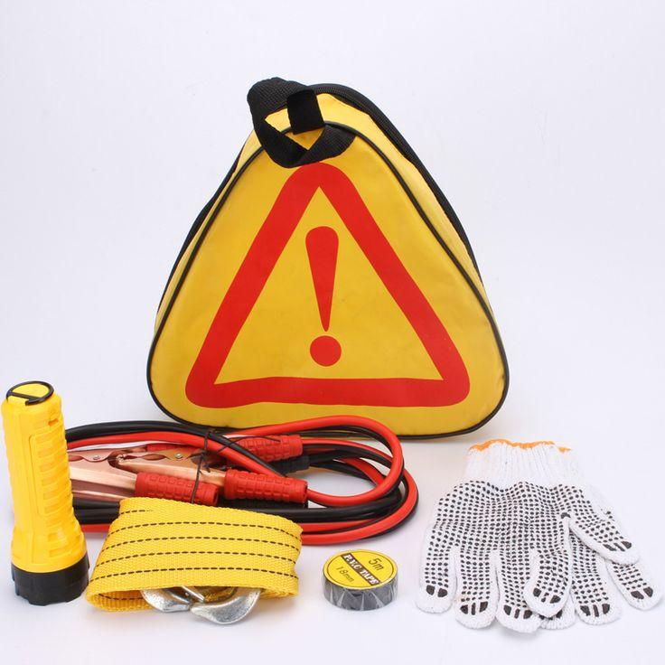 Автомобиль аварийный мешок Автомобиль аптечка эвакуатор веревки ленты перчатки фонарик набор инструментов автомобиль KPX-14