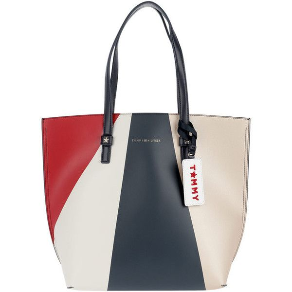 Tommy Hilfiger Handle Bag - Effortless Tote Large Geo Metallic - in... (2.601.905 IDR) ❤ liked on Polyvore featuring bags, handbags, tote bags, colorful, white shopping bags, handbags totes, tommy hilfiger tote, long strap purse and tommy hilfiger tote bag