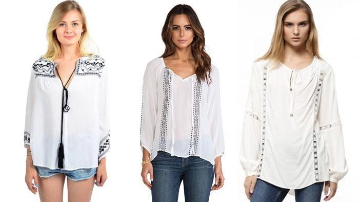 Blouse Boho Wanita - Ingin Tampil Fashionable dengan Gaya Ini Girls? Inilah Pilihannya!