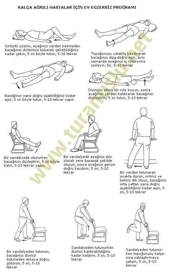 fizik tedavi egzersizleri -