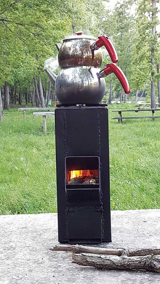 492 best do it yourself images on pinterest farming for Decorative rocket stove