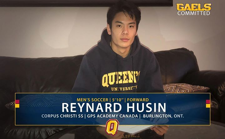 Msoc Reynard Husin Is Gaels Committed Husin Plays With The Gps Academy Canada And Is A U17 Oasl Champion In 201 Athletic Supports Queen S University Academy