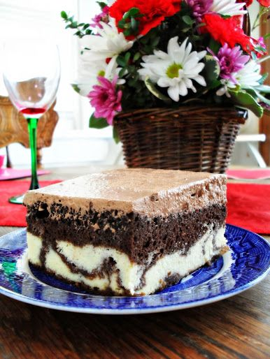 Chocolate Italian Love Cake | veronicascornucopia.com
