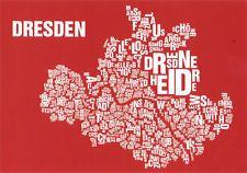 Plakat aus der Reihe Buchstabenort - Dresden  http://www.buchstabenorte.de/dresden/