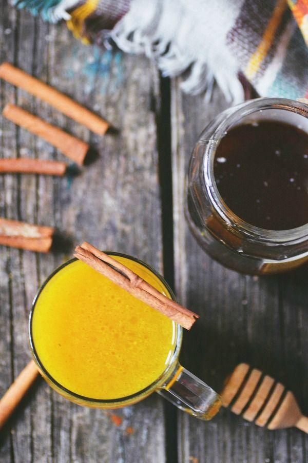 Domácí léčení zlatým mlékem | Chez Alena