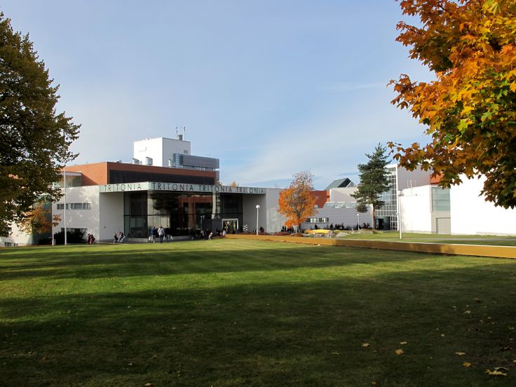 Tritonia Academic Library at Palosaari Campus, Vaasa. Photographer: Eliina Salmela