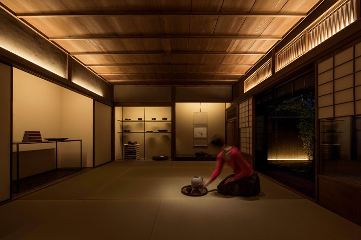 Kyoto traditional house – Kyoto, Japan - Lighting products: Laser Blade by iGuzzini Illuminazione – Lighting project: Hiroyasu Shoji LIGHTDESIGN INC. #iGuzzini #Lighting #Light #Luce #Lumière #Licht #LaserBlade #LightingInspirations
