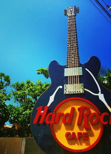 Happy blue sky, HardRockers...  #HardRock #Bali #Indonesia