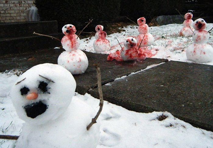 雪だるまゾンビ化