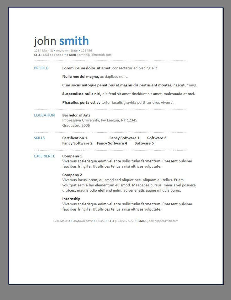 resume template in word cv templates resume templates cv