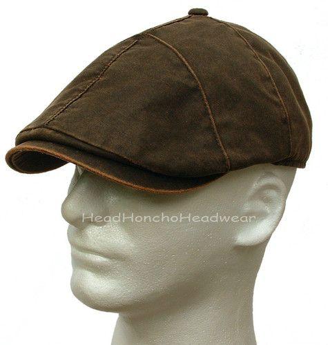 Stetson Weathered Cotton Ivy Cap Newsboy Men Hat Gatsby Golf Duckbill Driving | eBay