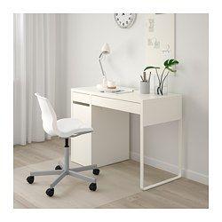 Kleine Computertafel Ikea.Desk Micke White In 2019 Office Redo Micke Desk Bedroom Desk