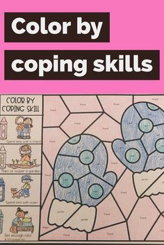 This color by coping skill activity is a great way to review coping skills with your students after the winter or Christmas holiday break. Review coping strategies that students can use when difficult situations arise in this hands-on activity! Students use the coping skills key on the left side of the page to color the hidden image on the right. Counselor Keri #schoolcounselor #schoolcounseling #copingskills #winteractivity #counseling #elementaryschool