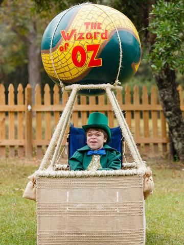 Wizard of oz wheelchair costume