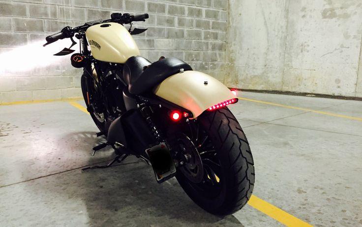 My Harley Davidson Sportster Iron 883 Custom More