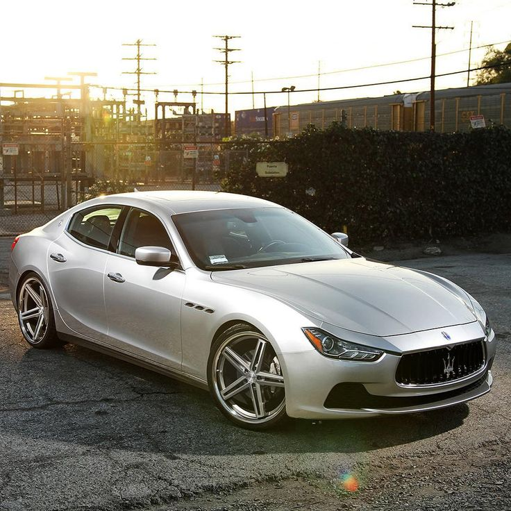 """Welcome To The Car Game On Instagram: """"@ConceptOneWheels Maserati Ghibli Concept One"""