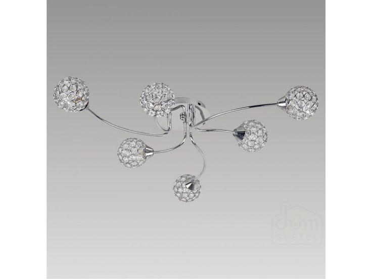 stropní svítidlo Prezent Manon 65200; 6*G9/40W; Krytí: IP20; chrom