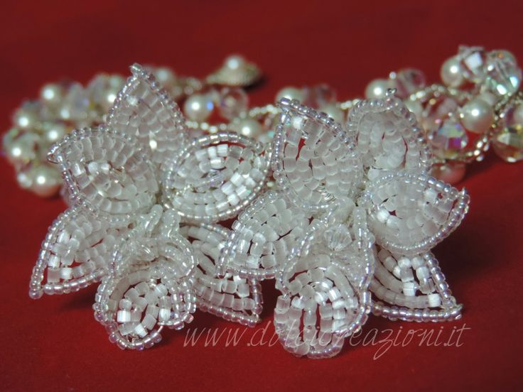 Accessori per capelli, fermagli, gioielli sposa fatti a mano  www.dolcicreazioni.it