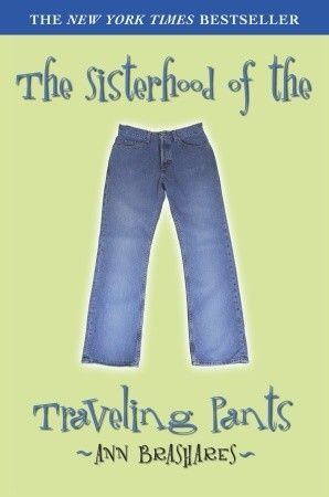 "Next time my husband loses a friendly bet with me, his ""punishment"" is going to be having to read The Sisterhood of the Traveling Pants"". (Not a lot of 45-year old guys reading this today.) Secretly, I think he will like it."